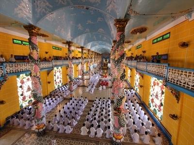 カオダイ教寺院総本山